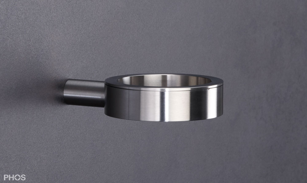 Badezimmer zubeh r edelstahl design for Badezimmer wandregal edelstahl