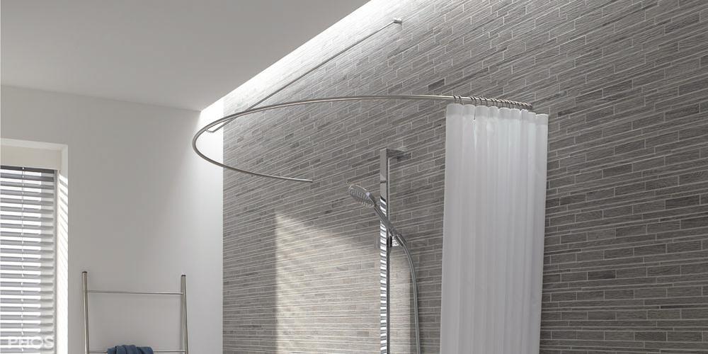 stange f r duschvorhang badewanne kr29 kyushucon. Black Bedroom Furniture Sets. Home Design Ideas