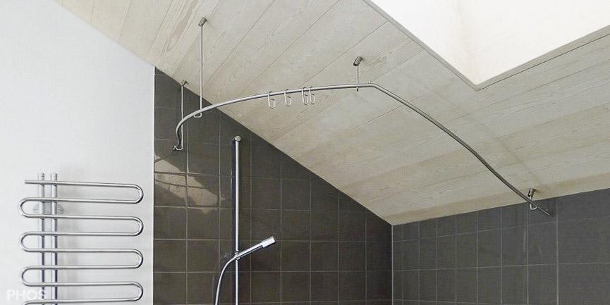 Duschvorhang Nach Maß : duschvorhangstange gerade und individuell nach ma ~ Watch28wear.com Haus und Dekorationen
