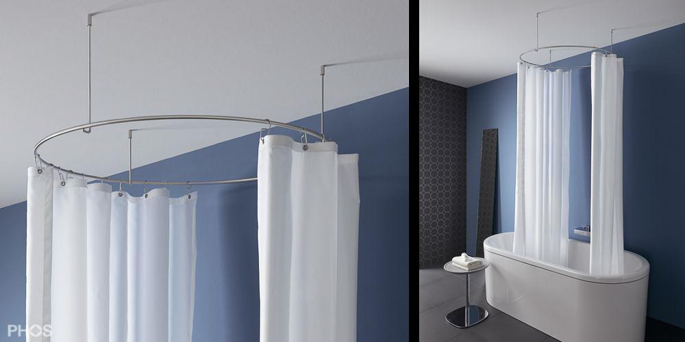 duschvorhangstange f r badewanne. Black Bedroom Furniture Sets. Home Design Ideas