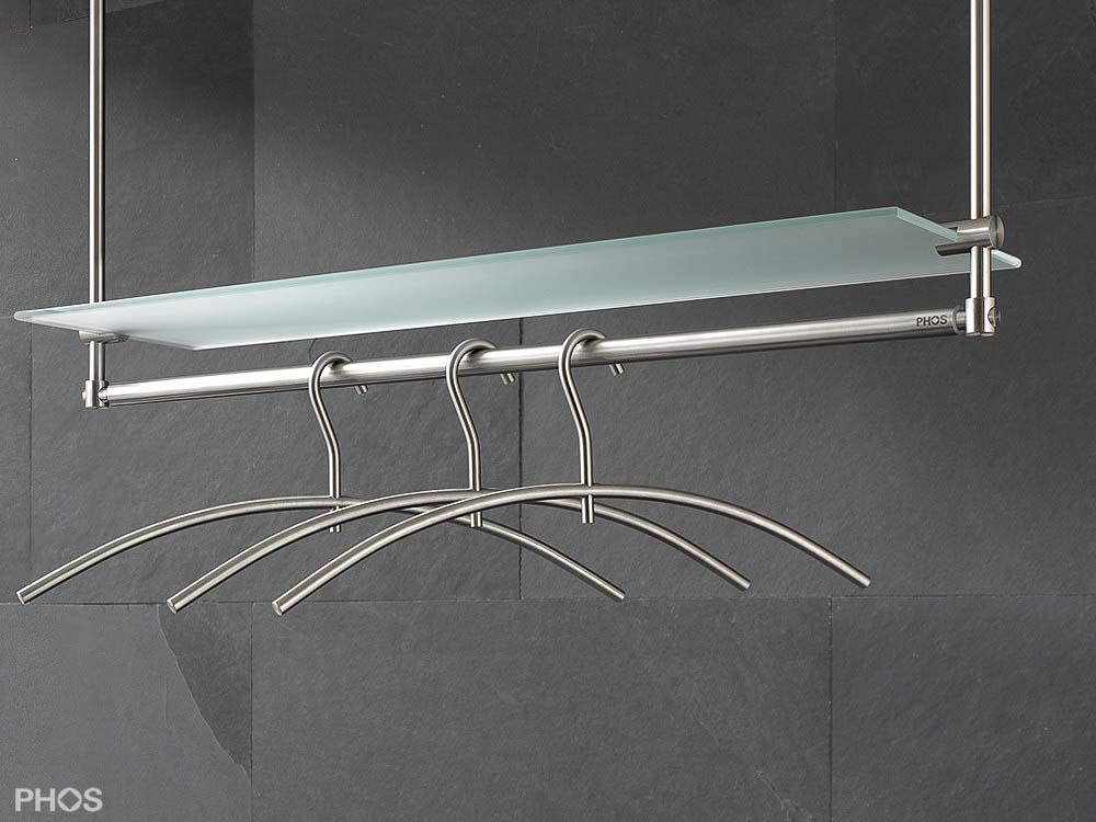 kleiderstange deckenbefestigung h ngegarderobe aus. Black Bedroom Furniture Sets. Home Design Ideas