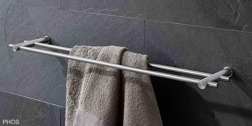 Handtuchhalter Für Bad handtuchhalter und handtuchhaken in zeitlosem edelstahl design