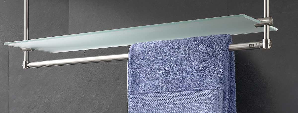 Handtuchhalter und handtuchhaken in zeitlosem edelstahl design for Handtuchhalter design