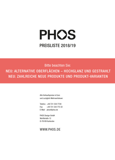 Preisliste 2017 als download