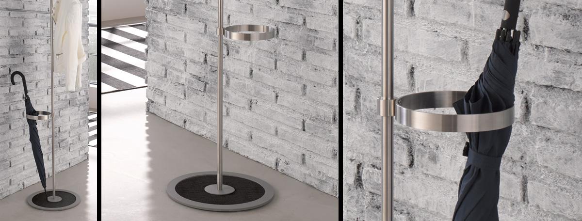 edelstahl cns schirmst nder. Black Bedroom Furniture Sets. Home Design Ideas
