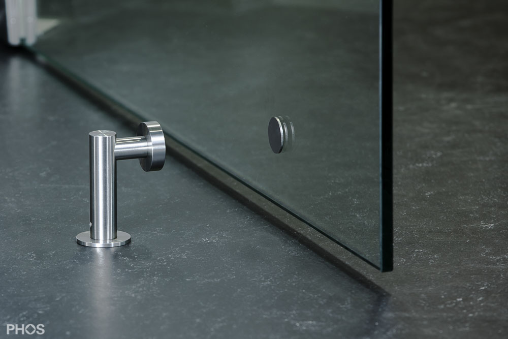 Türfeststeller Magnet Türstopper Türhalter Türaufhalter Edelstahl Boden Wand