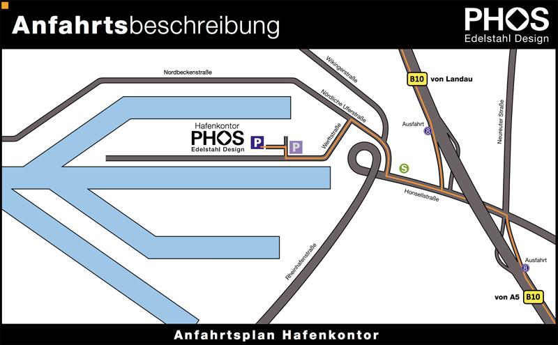 a480cb7d878d75 PHOS Standort und Werksverkauf im Rheinhafen Karlsruhe