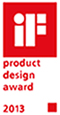 iF Product Design Award Winner 2013 - International Forum Design, Hannover