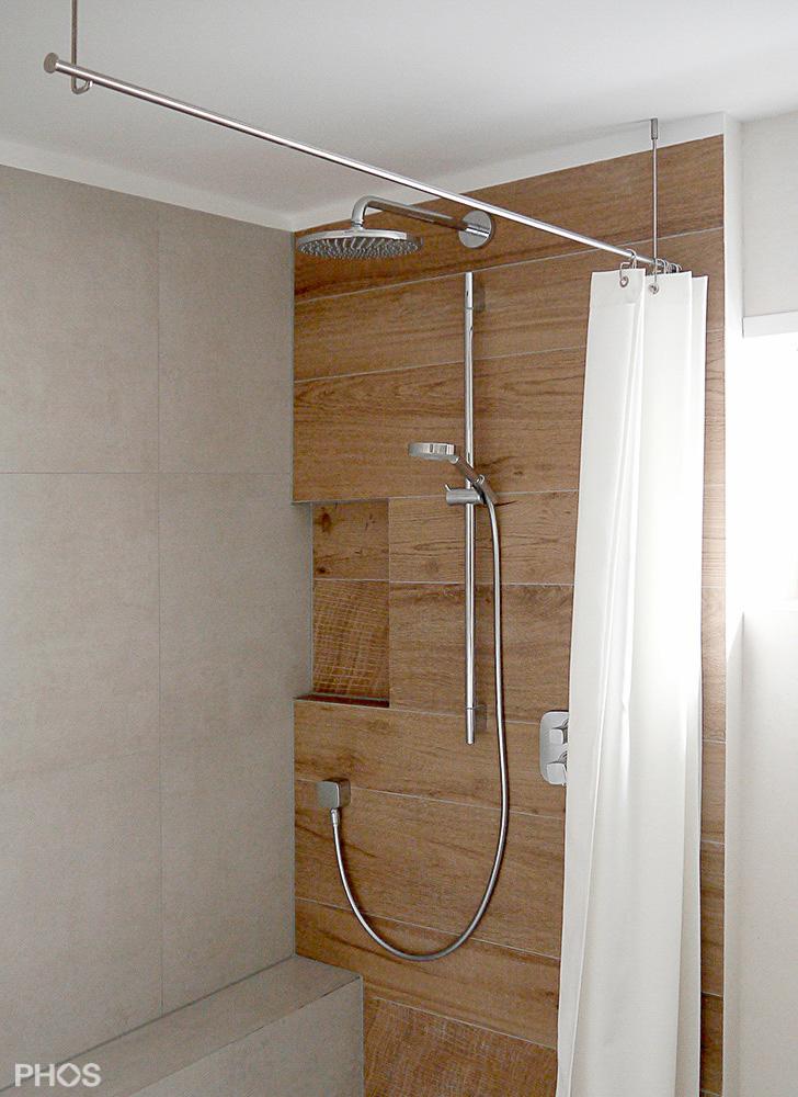 dusche glaswand halterung verschiedene. Black Bedroom Furniture Sets. Home Design Ideas