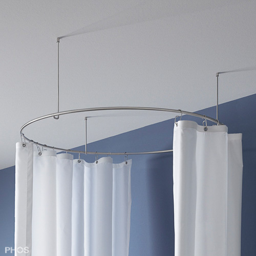 Duschvorhangstange Aus Edelstahl CNS Fur Badewanne Dusche