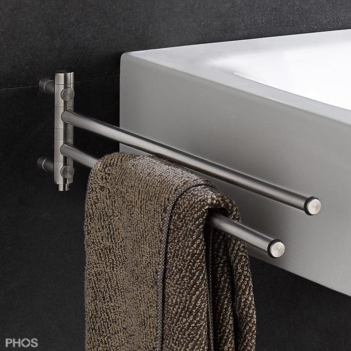 handtuchhalter edelstahl und bad accessoires. Black Bedroom Furniture Sets. Home Design Ideas