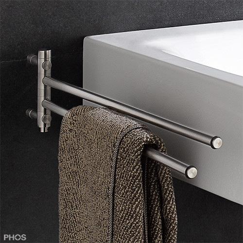 Handtuchhalter in zeitlosem edelstahl design - Handtuchhalter design ...