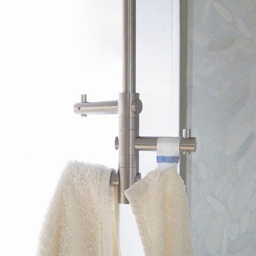 Handtuchhalter in zeitlosem edelstahl design for Handtuchhalter design