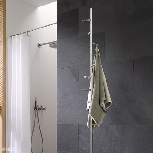 Handtuchhalter Dusche Edelstahl : Handtuchhalter und Handtuchstangen in Edelstahl Design