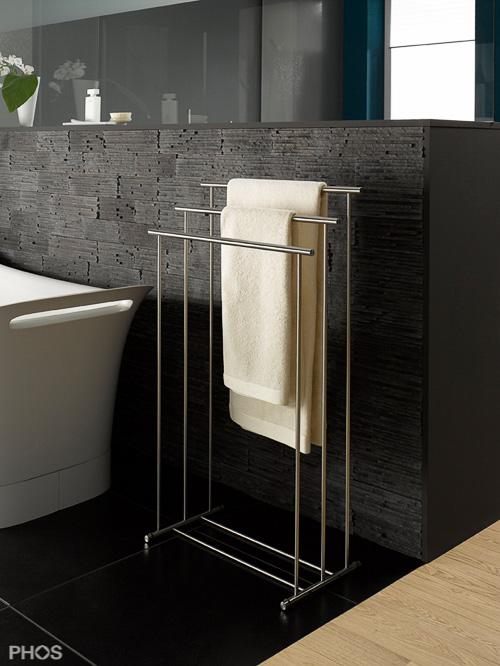 handtuchhalter und handtuchhaken in zeitlosem edelstahl design. Black Bedroom Furniture Sets. Home Design Ideas