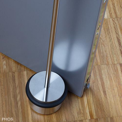 t rstopper f r boden und wand aus edelstahl cns matt geb rstet. Black Bedroom Furniture Sets. Home Design Ideas