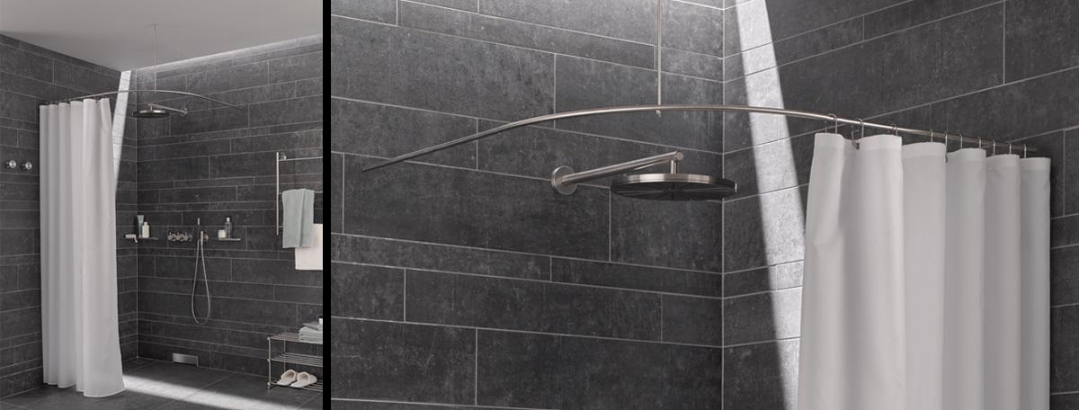 handtuchhalter dusche edelstahl raum und m beldesign inspiration. Black Bedroom Furniture Sets. Home Design Ideas