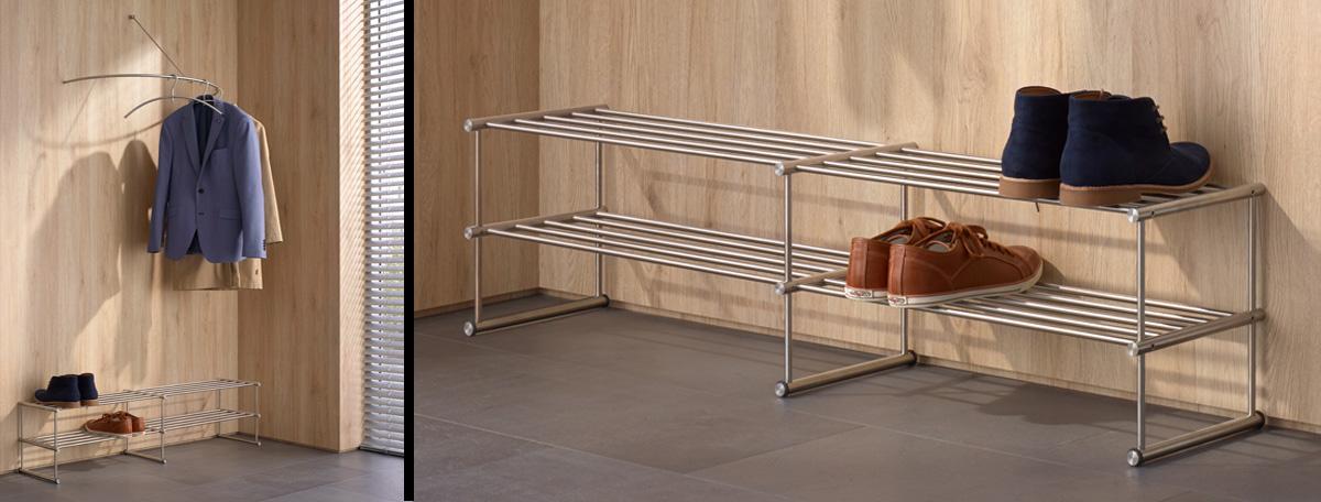 schuhregal wandmontage wohndesign und inneneinrichtung. Black Bedroom Furniture Sets. Home Design Ideas